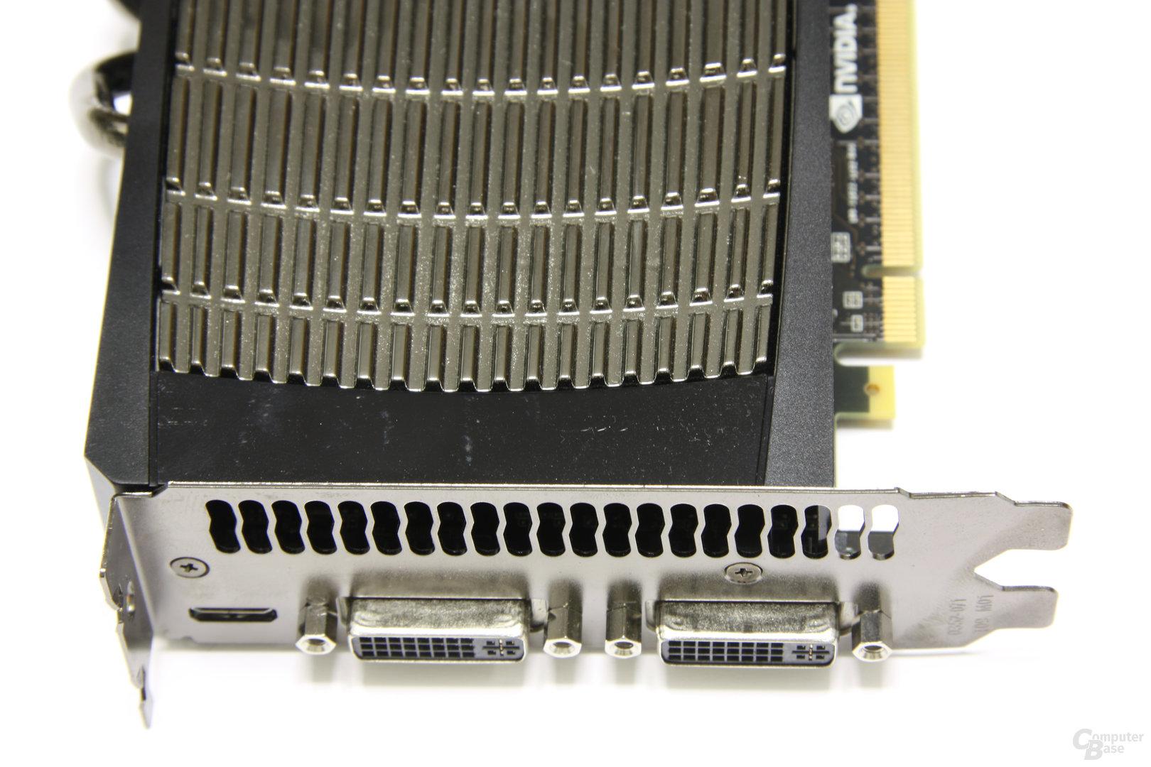 GeForce GTX 480 Anschlüsse