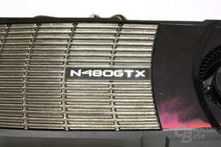 GeForce GTX 480 Schriftzug