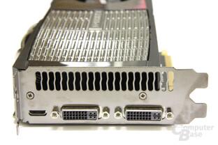 GeForce GTX 480 Slotblech