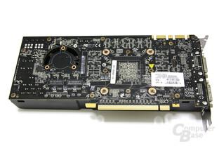 GeForce GTX 470 Rückseite