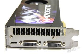 GeForce GTX 470 Slotblech