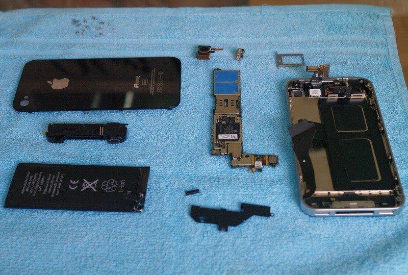 iPhone-Prototyp – zerlegt