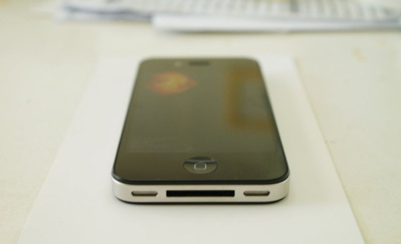 iPhone-Prototyp – Unterseite