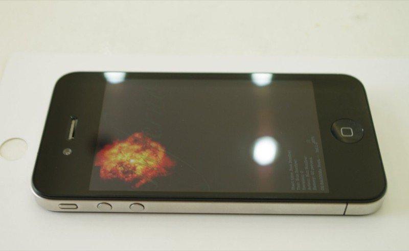iPhone-Prototyp – Lautstärkeregelung