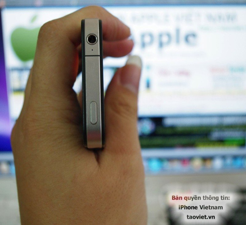 iPhone-Prototyp – Mikrofon an der Oberseite