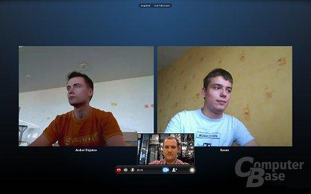 Gruppen-Videoanrufe mit Skype 5.0 für Windows
