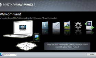 Moto-Telefonportal