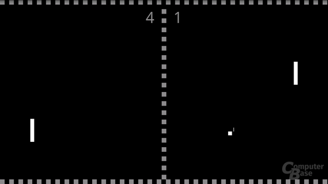 """In """"Multi Touch Pong"""" stellt das Display des Milestone seine Fähigkeiten unter Beweis"""