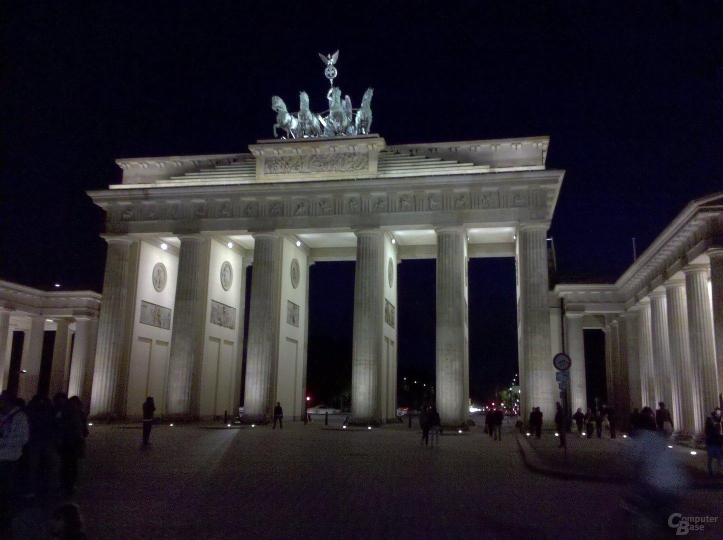 Aufnahme des Brandenburger Tors