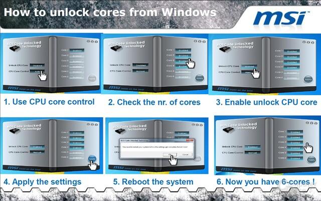 MSI Unlock-Software