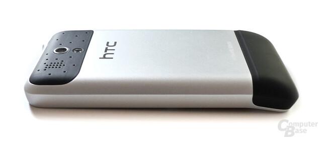 HTC Legend - Seitenansicht