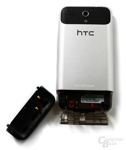 HTC Legend- Rückseite