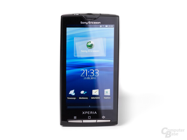 Xperia X10 frontal