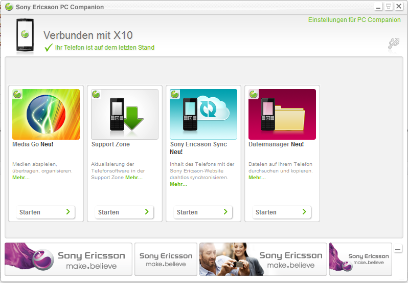 Sony Ericsson PC-Companion