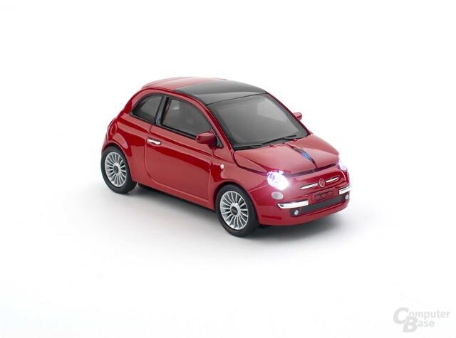 Fiat-500-Maus von Sunnytrade