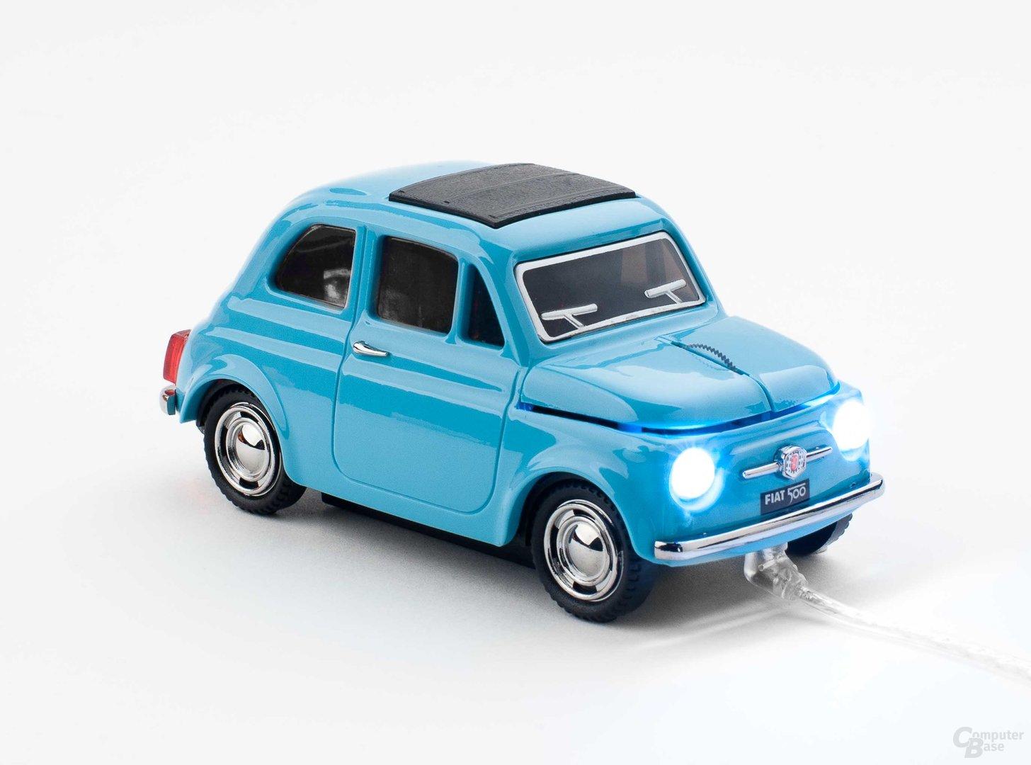 Fiat-500-Oldtimer-Maus von Sunnytrade