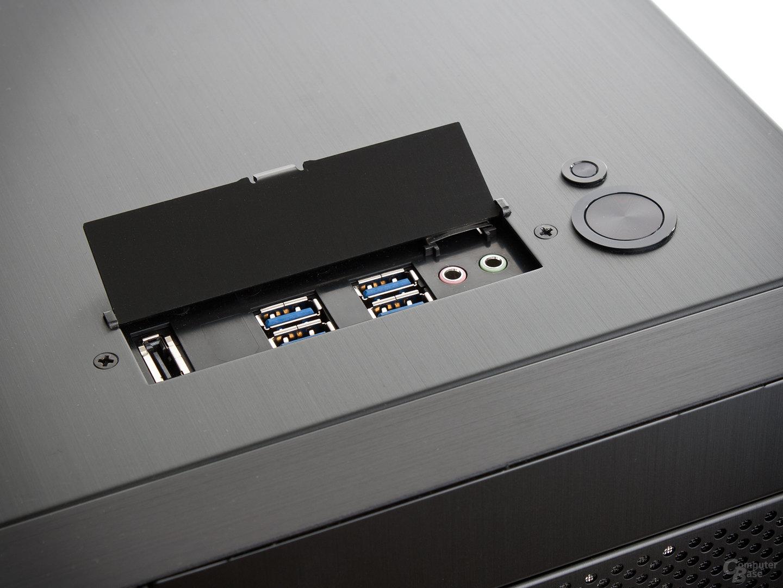 Lian Li PC-A77F – Anschlüsse