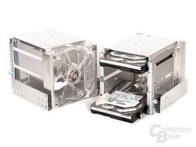 Lian Li PC-A77F – Festplatteneinschübe