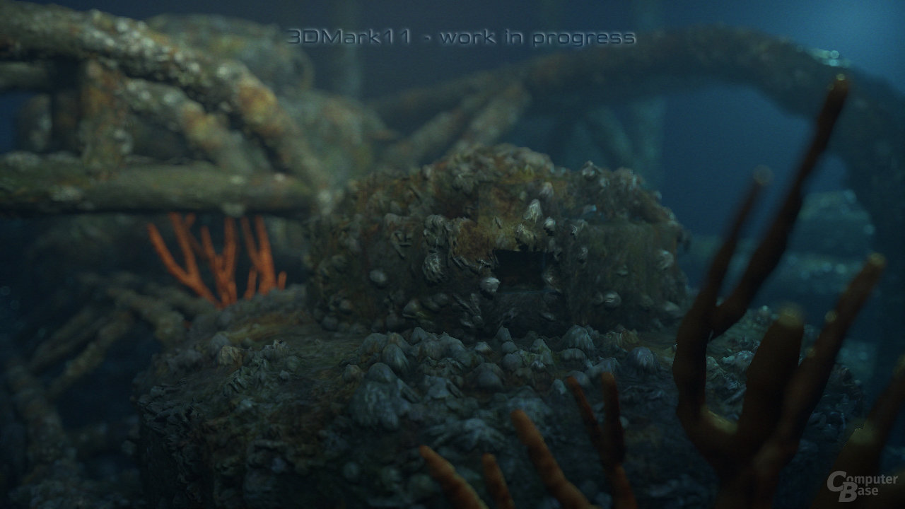 3DMark 11 Deep Sea Tech Demo