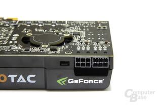 GeForce GTX 465 Stromanschlüsse