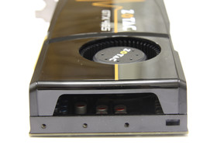 GeForce GTX 465 von hinten