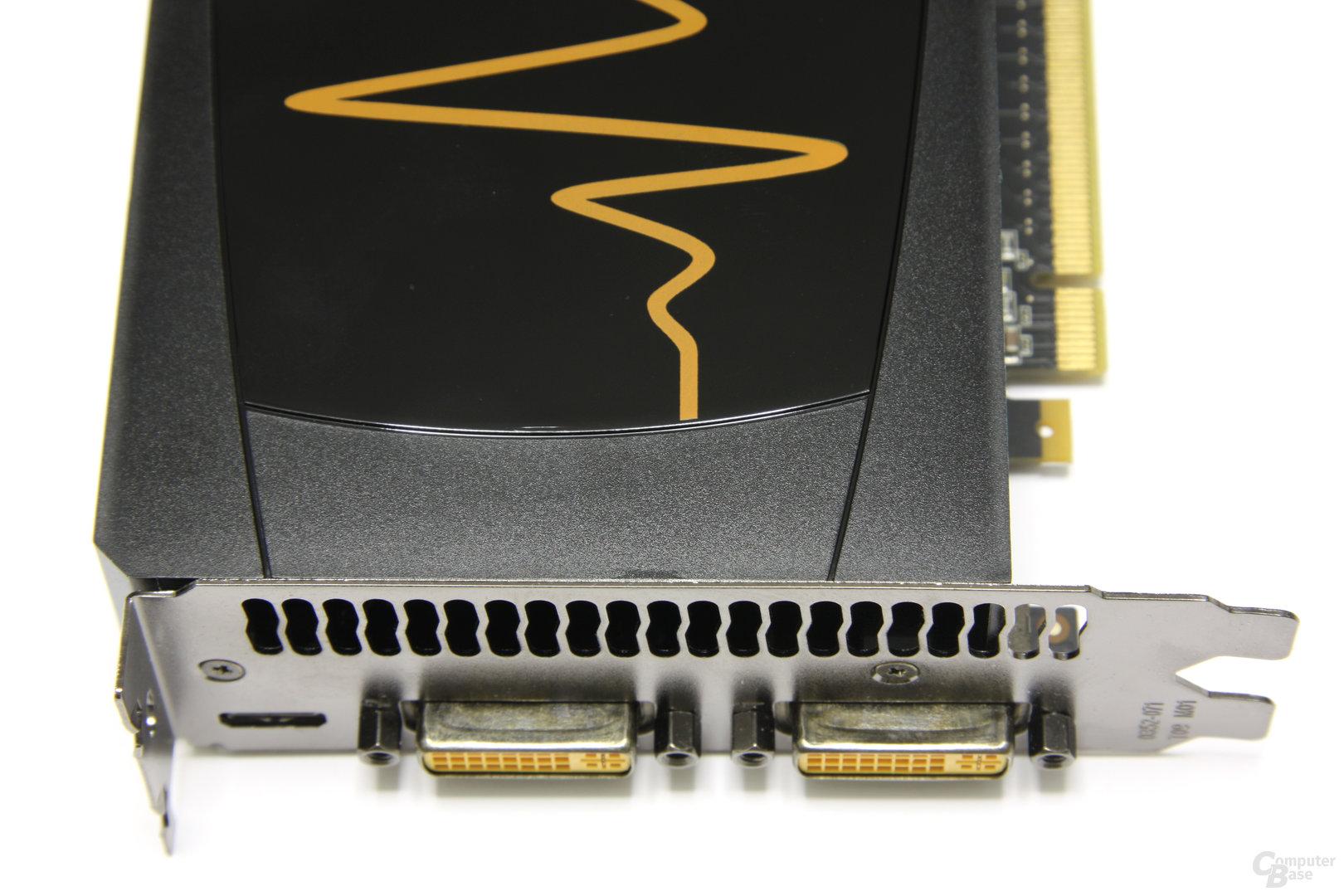 GeForce GTX 465 von oben