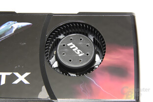 GeForce GTX 465 Lüfter