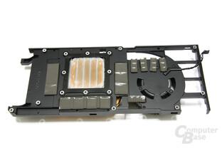 GeForce GTX 465 Rückseite Kühler