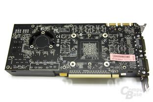 GeForce GTX 465 Rückseite