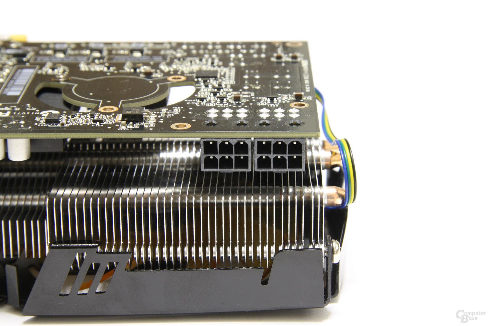 GeForce GTX 470 AMP! Stromanschlüsse