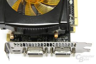 GeForce GTX 470 AMP! Anschlüsse