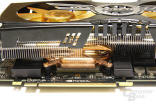 GeForce GTX 470 AMP! Kühlblock
