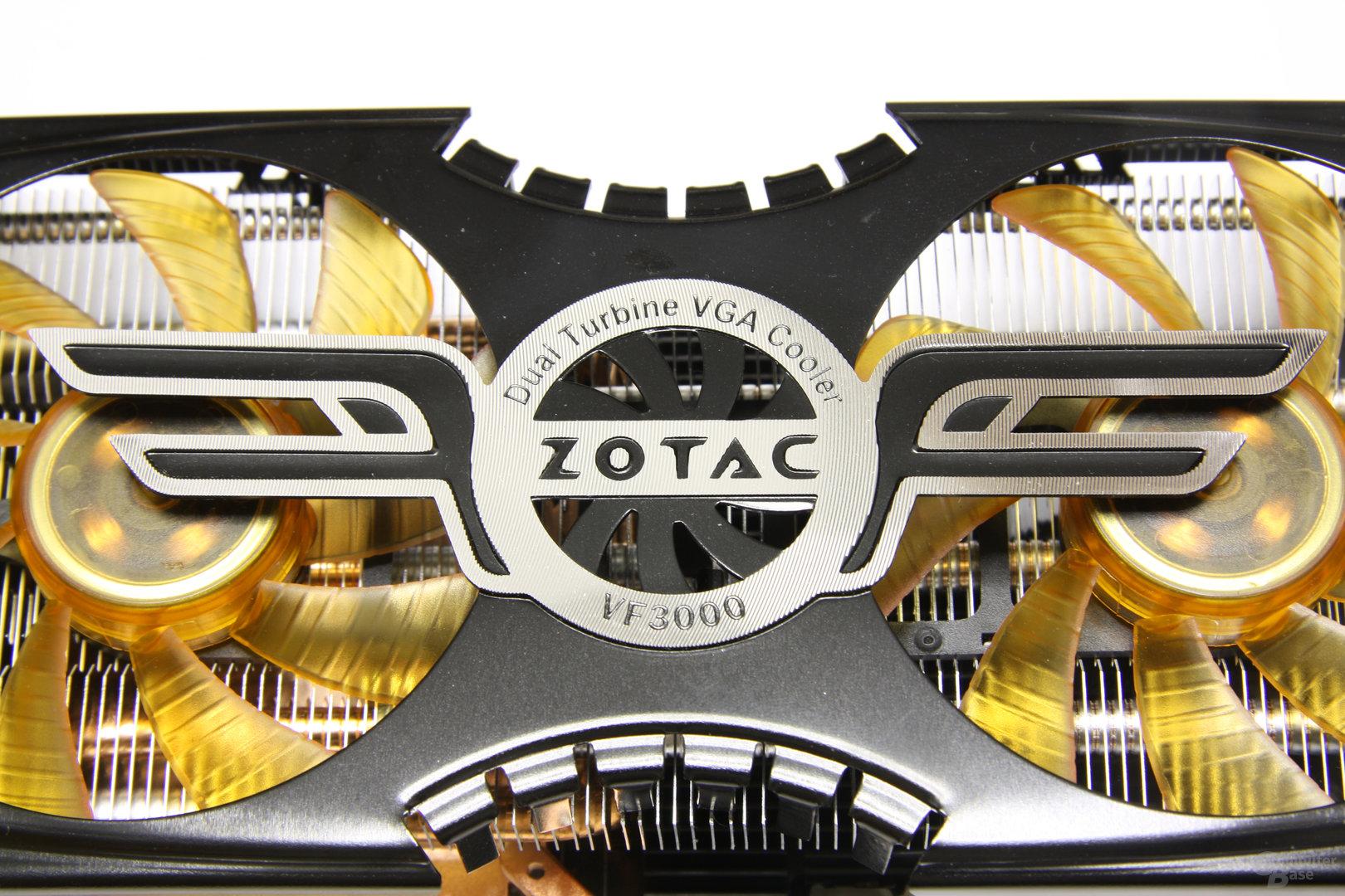 GeForce GTX 470 AMP! Logo