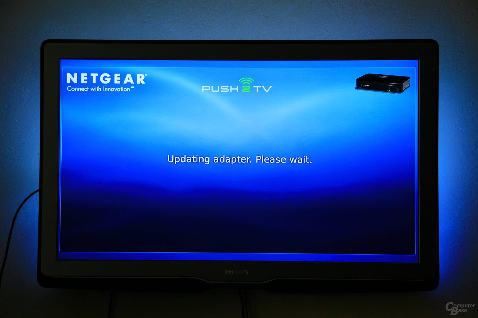 Firmware-Update des Netgear PTV1000