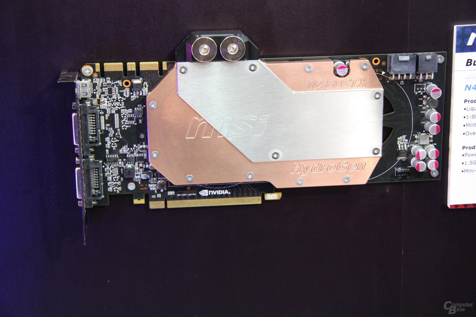 MSI GeForce GTX 480 HydroGen