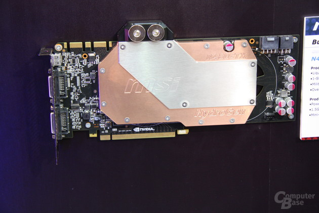 MSI GeForce GTX 480 HydroGen
