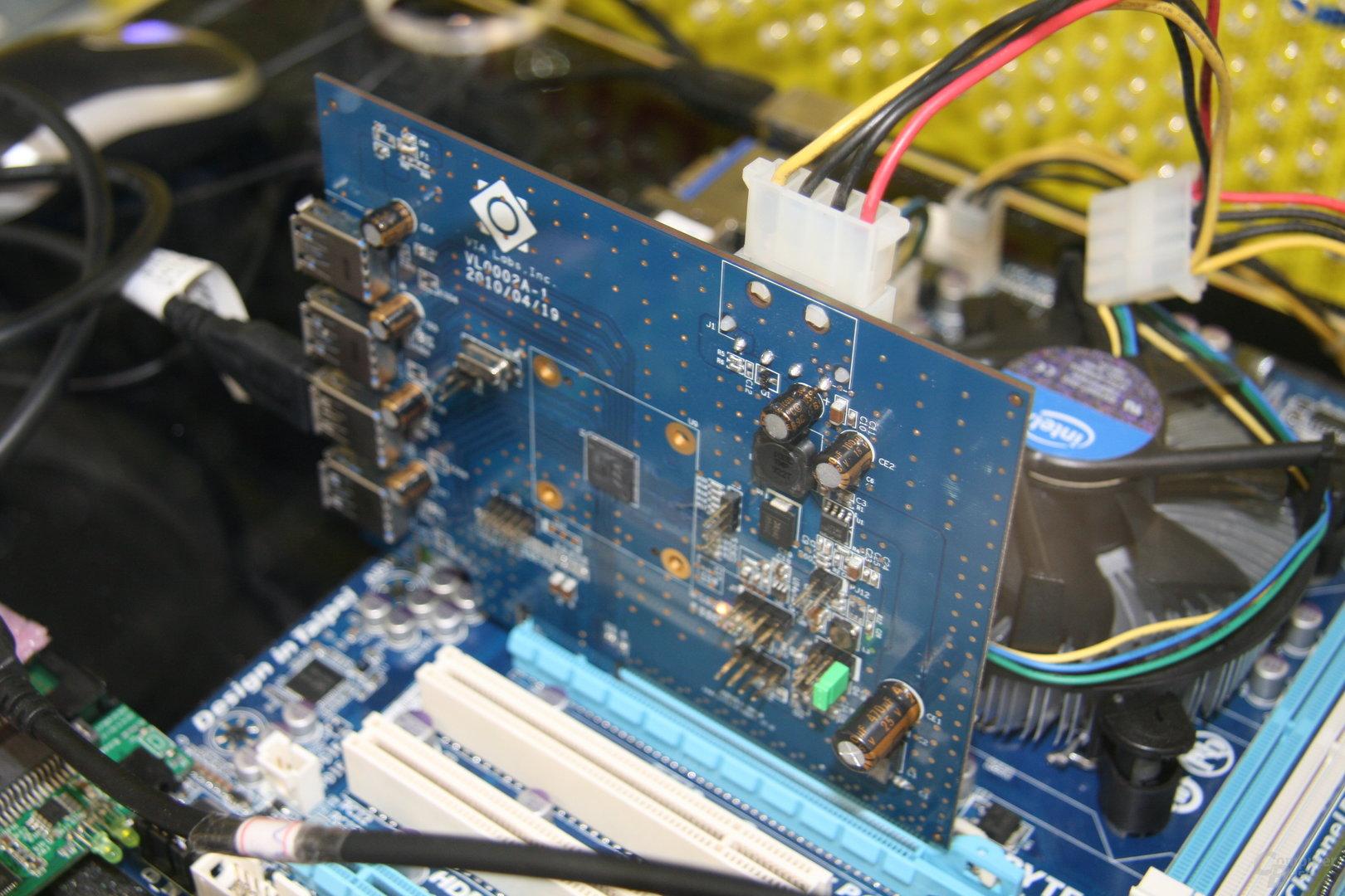 VIA 4-fach-USB-3.0-Controller