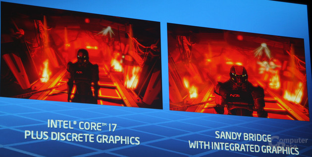 """""""Mass Effect 2"""" im Standbild"""