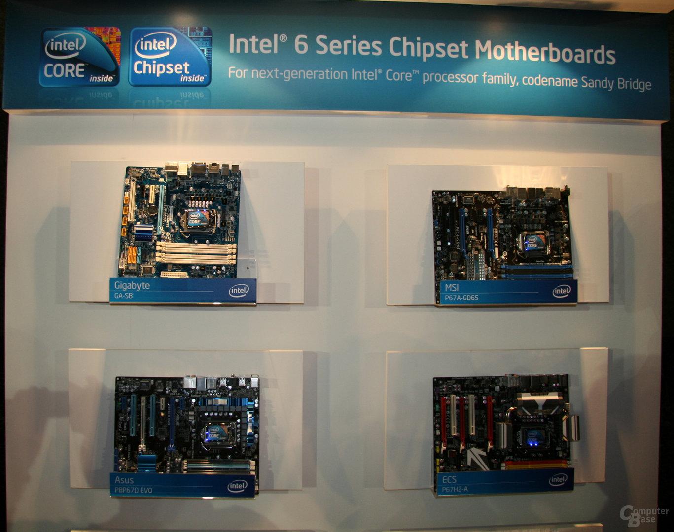 Intel Mainboardwand