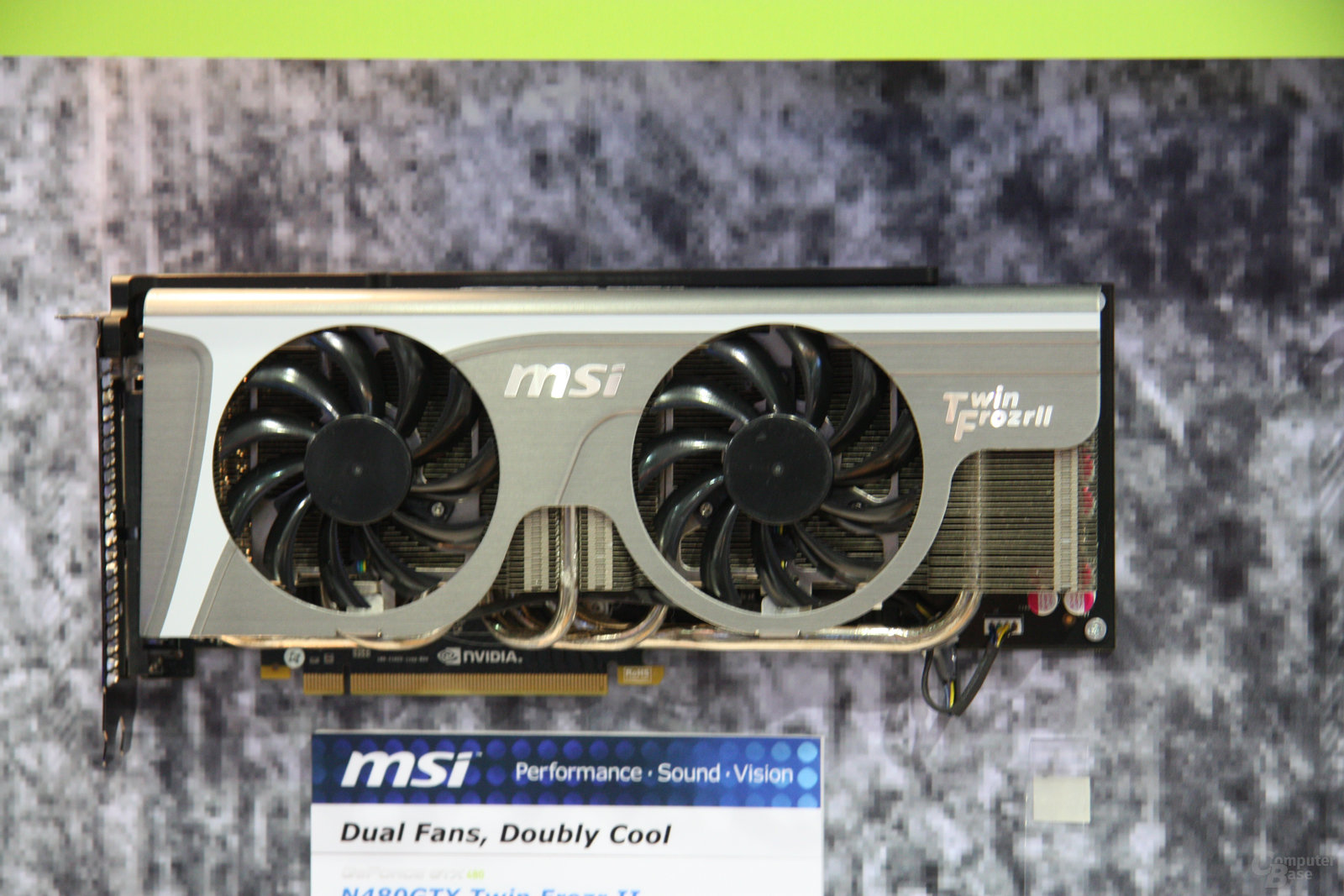 MSI GeForce GTX 480 Twin Frozr II