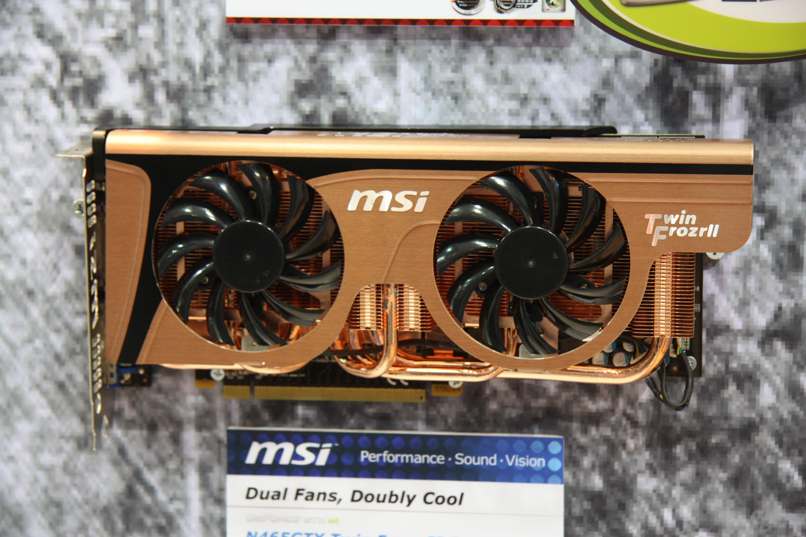 MSI GeForce GTX 465 Twin Frozr II limitiert