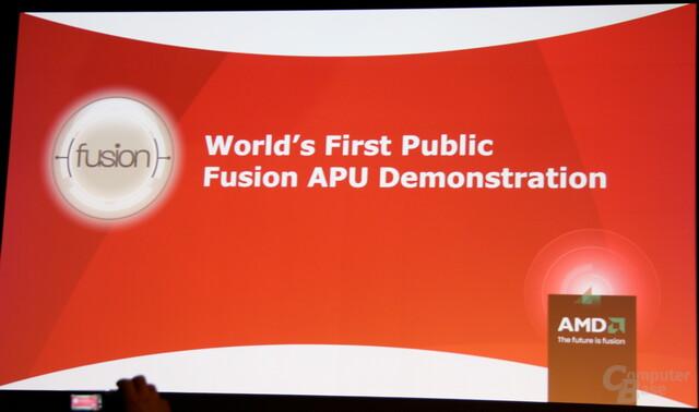 Erste Demonstration einer APU