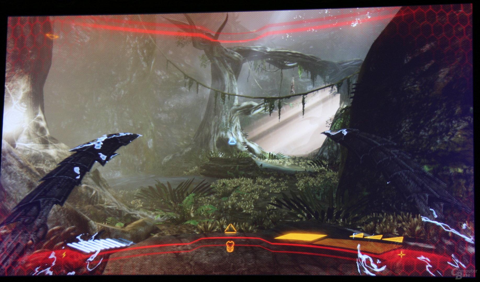 DX11-Spiel auf Fusion