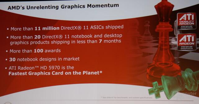 AMDs Erfolge mit DirectX-11-Grafiklösungen