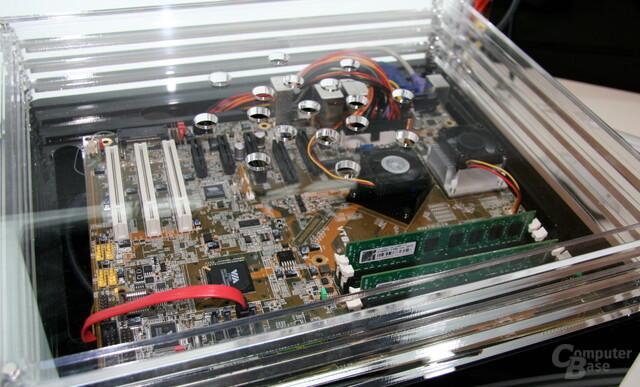 VIA Nano DC auf der Computex 2010