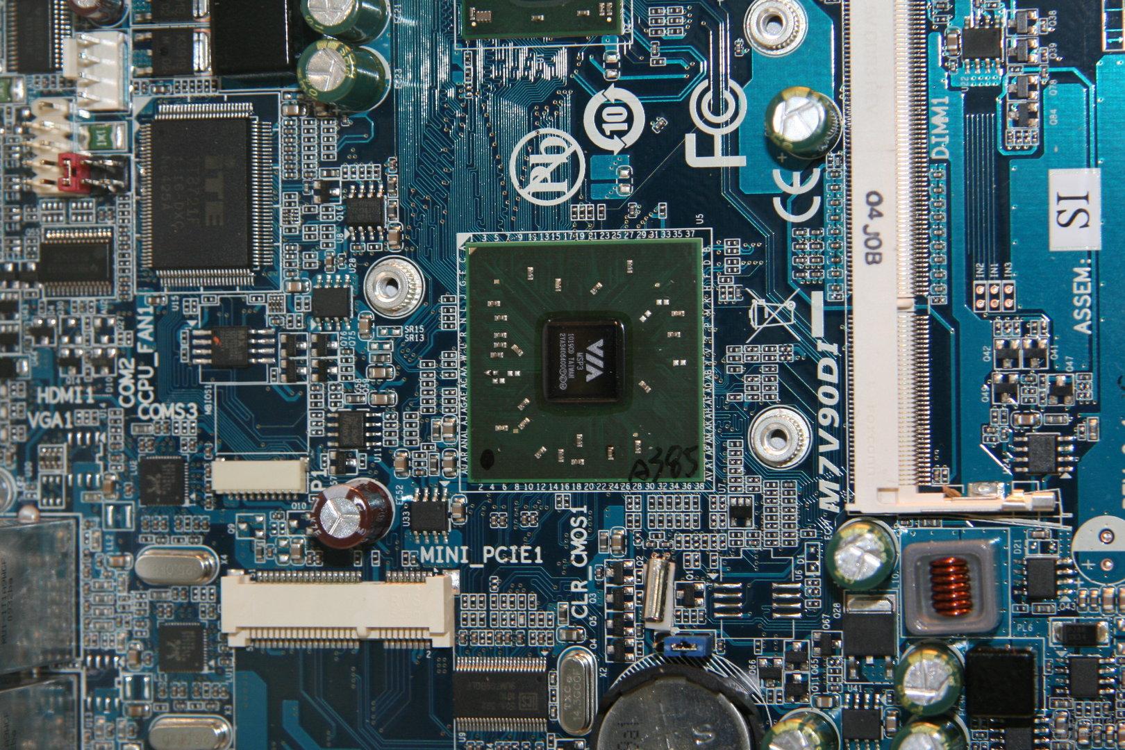Atom-Mainboard von Gigabyte im Mini-ITX-Format