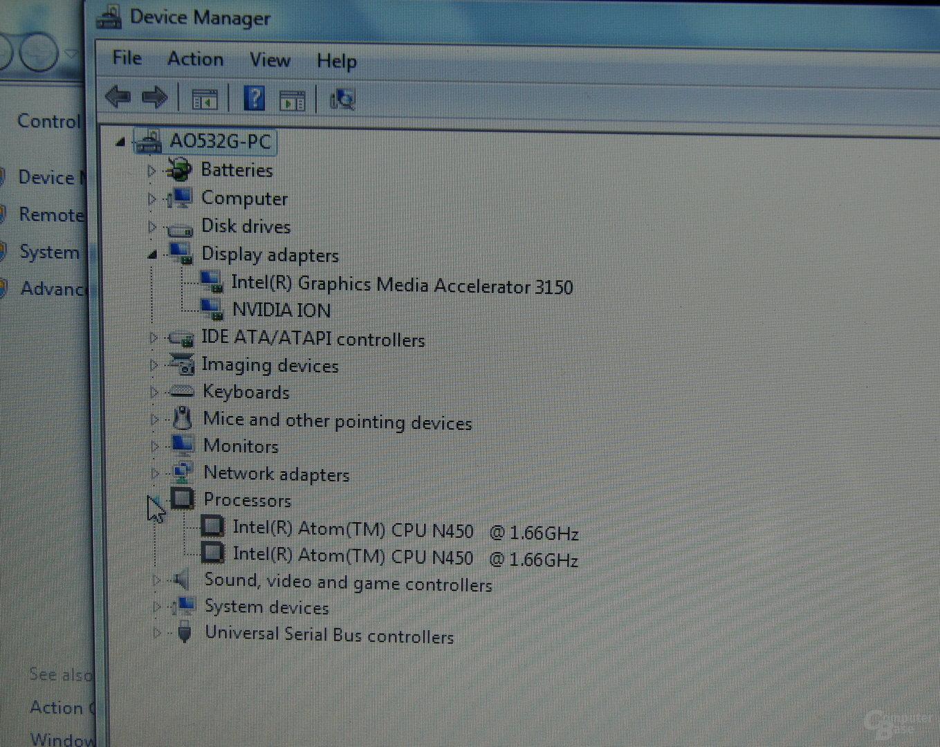 Acer Asprire One 532G