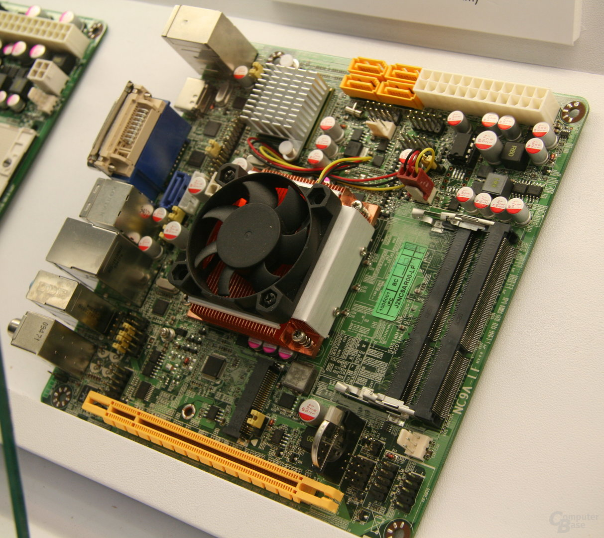 Jetways Mini-ITX-Board mit HM55-Chipsatz