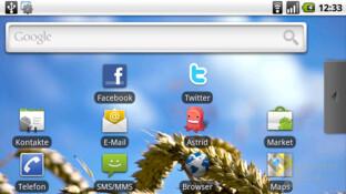 Motorola Milestone ohne Android-Erweiterungen
