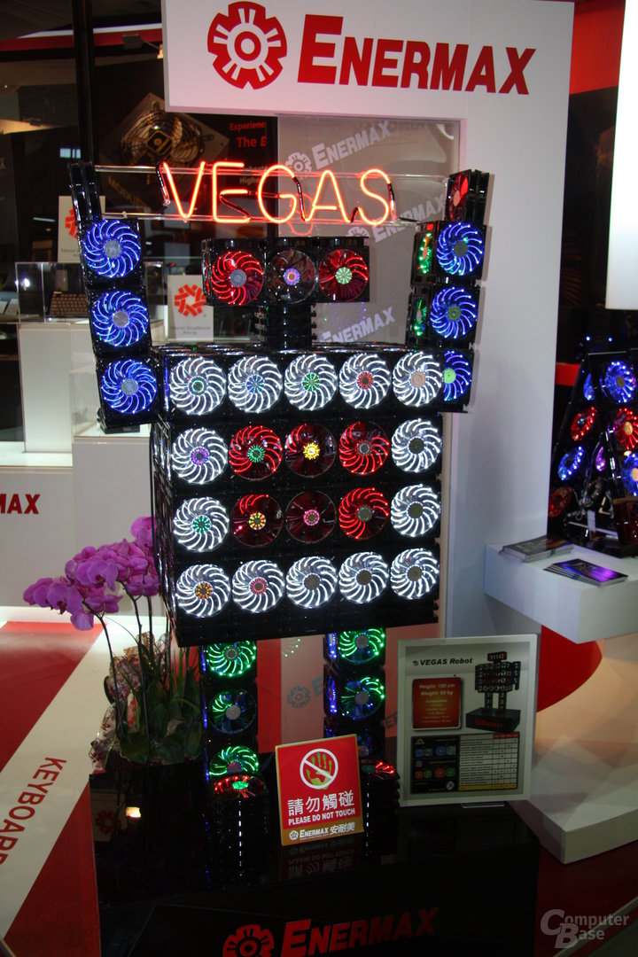 Enermax Netzteile und Vegas-Roboter